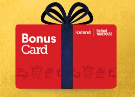 Iceland Bonus Card - Double Savings Bonus £2 for every £20 you save - 29 Oct to 18th Nov @ Iceland