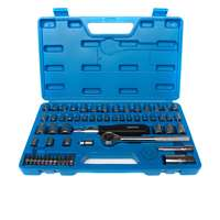 "Top Tech 1/4"" & 3/8"" Socket Set - 60pc £15.67 Euro Car Parts"