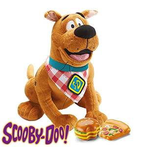 Scooby-Doo! Snack Attack Scooby soft plush. Interactive soft toy with sound effects.only £7.99 in store @ Homebargains