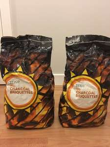 Tesc brand 5kg bag of charcoal briquettes 90p each @ Tesco (Castlereagh Road Belfast)