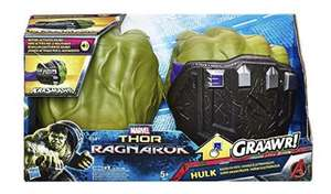 Hulk smash fists £10.50 : Thor ragnarok motion-activated sound clearance at Sainsbury's instore
