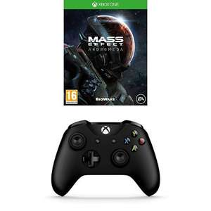 Xbox One Controller Plus Mass Effect Andromeda (New) - £28.19 - eBay/MusicMagpie