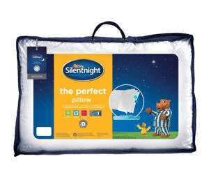 Silentnight The Perfect Pillow Hypoallergenic Machine Washable @ Ebay sold by Tesco outlet £8.08