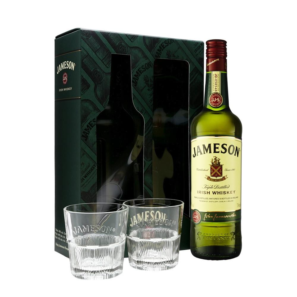 Jameson's Irish Whiskey (700ml) Gift Box (2 X Glasses) £20.00 @ Dunnes Stores (In-store)