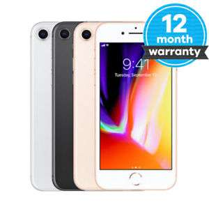 Apple iPhone 8 64GB Space Grey Unlocked Very Good Condition - musicmagpie ebay - £356.99