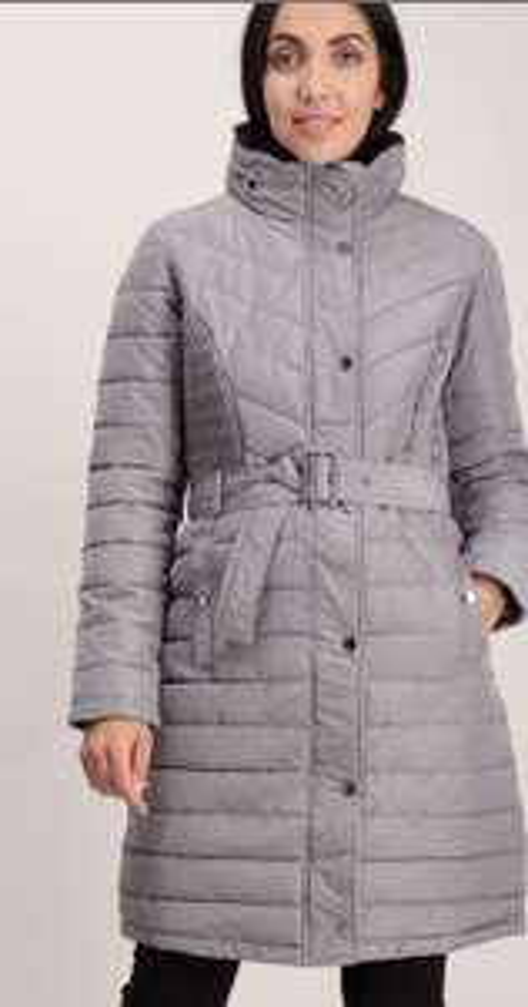 TU Navy/grey Padded Longline Coat £30 @ TU Sainsburys