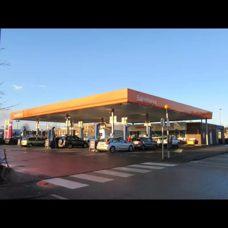 Sainsburys Arnold Petrol Station - £1.22.2 Unleaded