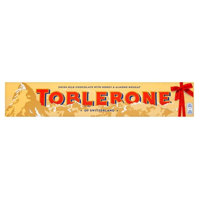 750gram toblerone £5 at Morrison's online