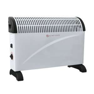 2KW Free Standing Convector Heater £15.99 Oypla