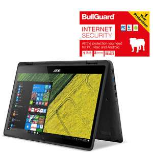 """Acer Spin 5 SP513-51-321Y Convertible Laptop 13.3"""" 8GB 128GB SSD With BullGuardSave an extra £347.25 Tesco on eBay"""