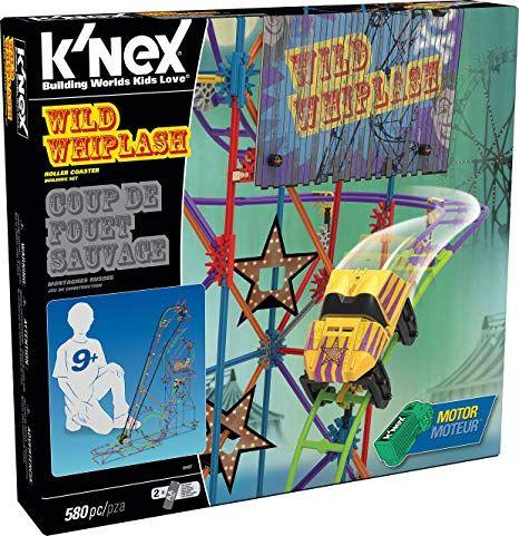 K'Nex  Wild Whiplash Roller Coaster Building Set Half Price £22.50 free C&C with code at Debenhams