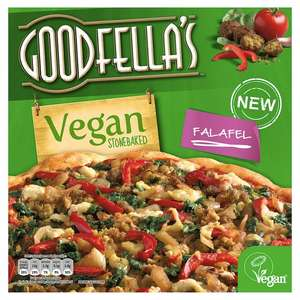Goodfellas Vegan Falafel Pizza 2 Tesco Hotukdeals