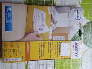 Avery labels for parcels & packages kit £1 instore (Wilko in Strood)