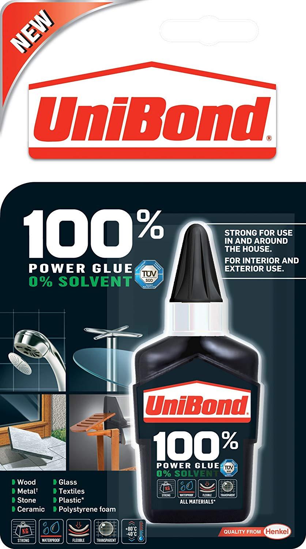 UniBond 100 Percent Power Glue Bottle 50g for 80p @ Morrisons