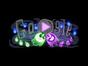 Free Ghost game on Google for Halloween