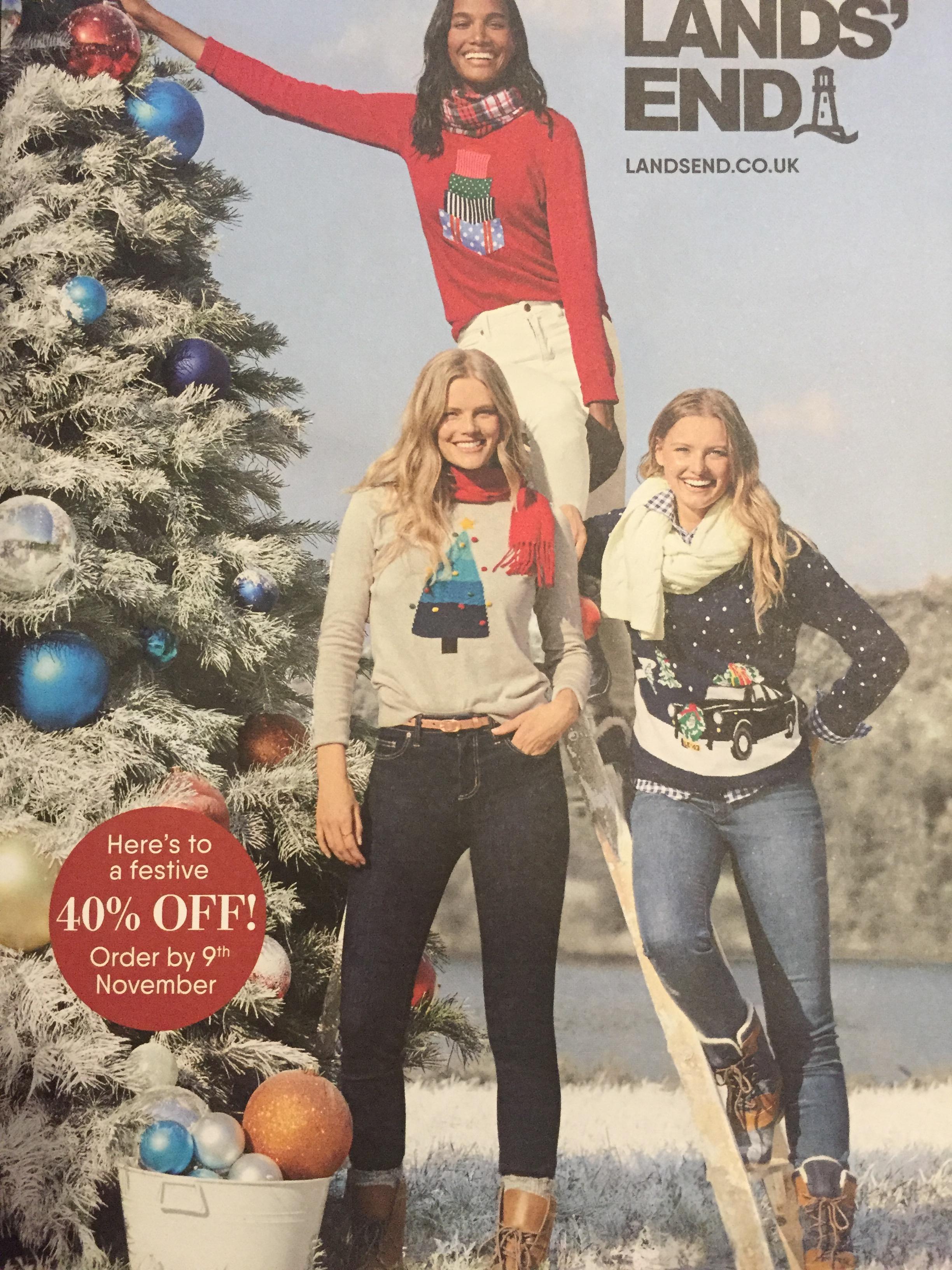 40% off code for Landsend valid on Full priced items, Men's, Women's, Kids Fashion p&p £3.95