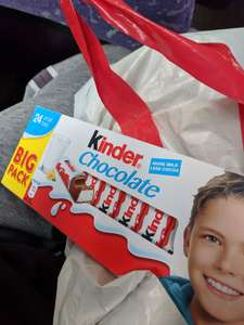 Kinder Chocolate 24 small bars only £2 @ Heron Foods