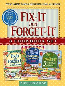 Fix-It and Forget-It Box Set: 3 Slow Cooker Classics in 1 Deluxe Gift Set £1.86 @Amazon Kindle