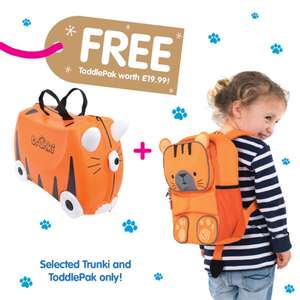 Trunki suitcase and backpack £33.99 with code @ IWantOneOfThose