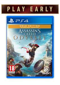 Assassin's Creed Odyssey: Gold Edition on PlayStation 4 £49.85 @ Simply games