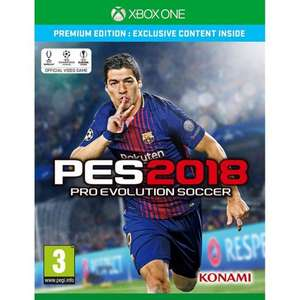 PES 2018 Xbox One - Premium Edition (Pre-owned) £4.95 @ Game Collection