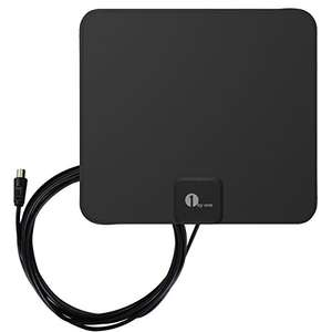 1byone Freeview TV Aerial with Stand - HDTV Antenna with Excellent Performance - £8.99 prime/£13.48 non prime sold by 1byone FBA @ Amazon