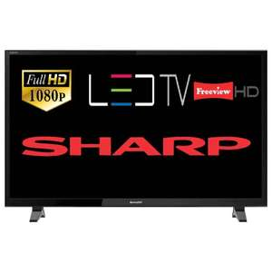 """Sharp LC-40FI3221K 40"""" LED TV Full HD 1080p With Freeview HD Tuner HDMI & USB £163.65 delivered @ Tesco Ebay"""
