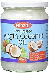 500ml virgin coconut oil Amazon add on item £2.33