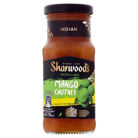 Sharwoods Green Label Mango Chutney 227G - 87p at Tesco