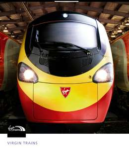 VIRGIN TRAINS fares from £5 for O2 priority users.