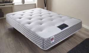 Crystal Orthopaedic memory foam mattress from £59.99 with free delivery at Groupon