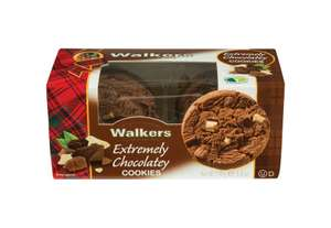 Walkers Shortbread 20% off entire range eg Extremely Chocolatey Cookies (Pack of 6) £8.64 using code and free P&P over £20