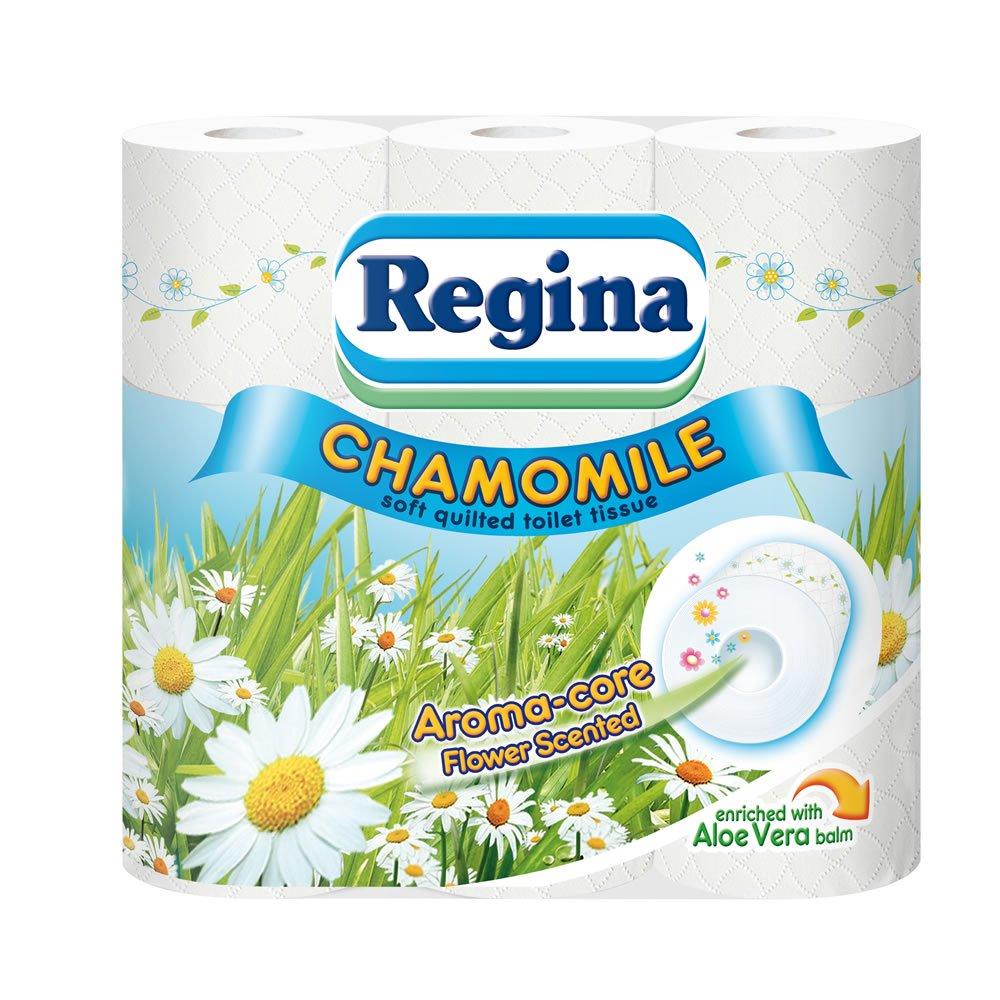 Regina Chamomile 3 Ply Toilet Roll x 9 £3 was £5.50 @ Wilko