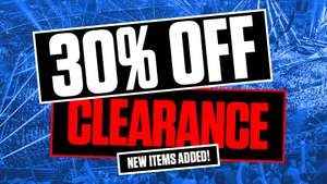 WWE Euroshop 30% off already discounted clearance items! Stuff from £0.00 + £4.25 p&p