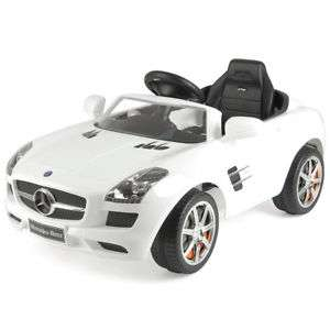 Mercedes Benz SLS AMG 6V Ride On Car White for £67.15 W/C Delivered @ Ebay (Tesco Outlet)