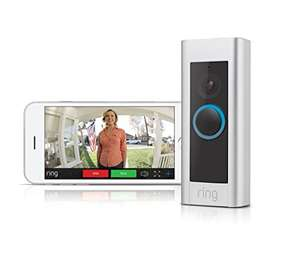 Ring Video Doorbell Pro - Kit with chime and transformer, 1080p - £179 @ Amazon