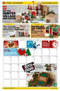 LEGO Free sets with over £80 & £35 spend! @ LEGO