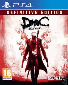 Devil May Cry Definitive Edition NEW (PS4) £7.99 @ musicMagpie