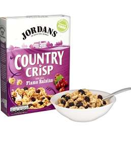 Jordan Country Crisp Raisin, Chocolate, Strawberry, Raspberry £1.42 @ Amazon Pantry