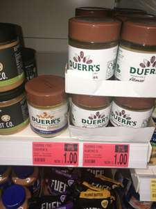 Duerrs Cashew and Almond butter spread 170g only £1 at B&M