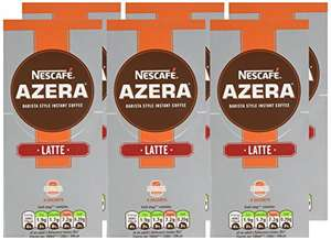Amazon PRIME only NESCAFÉ Azera Latte Coffee 6 sachets x 18 g - Pack of 6, Total 36 sachets £8.94 @ Amazon