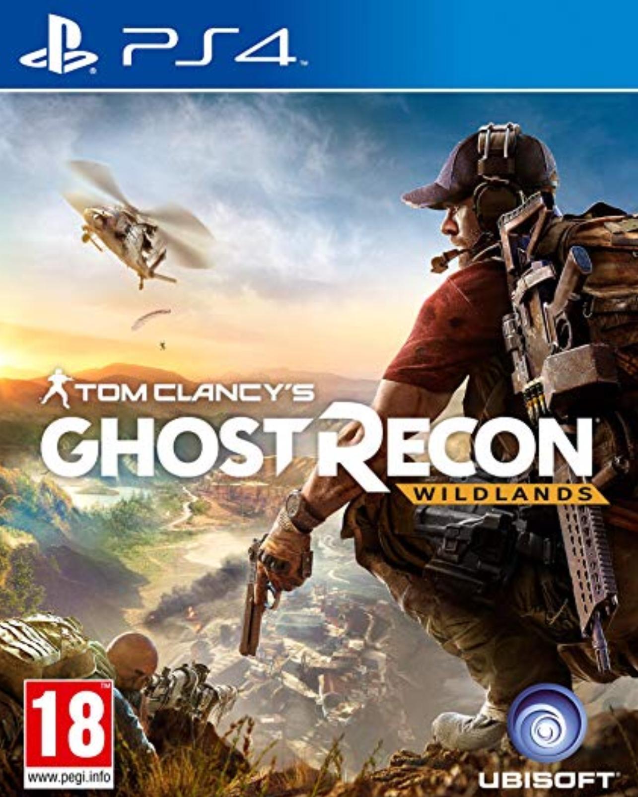 Tom Clancey's - Ghost Recon Wildlands PSN - £15.99