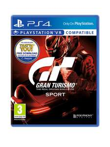 GT sport ps4 and black DualShock controller £24.99 C+C @ Very