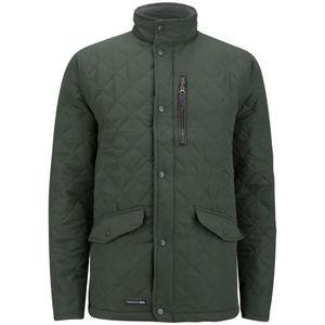 Trespass Mens Argyle Quilted Jacket Olive OR Black - now £34.98 delivered @ MandM Direct