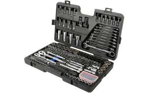 Halfords Advanced 170 Piece Socket & Ratchet Spanner Set with a Lifetime Guarantee only £112.50 with code free C&C