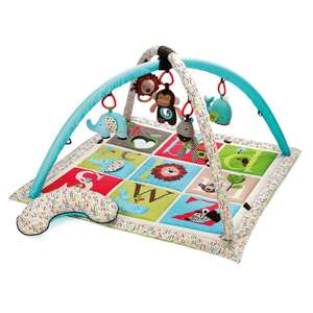 Skip Hop Activity Gym / Play Mat - Alphabet Zoo @ Online4Baby.Com £50.50