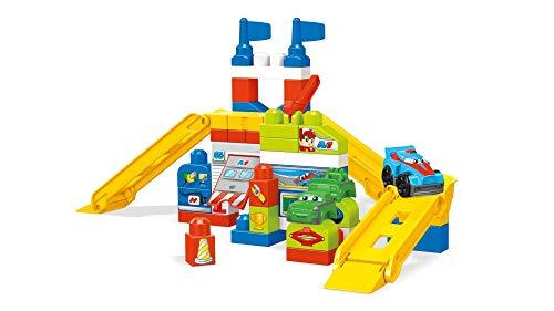 Mega Bloks FVJ02 Race Car Garage Bricks, Multi-Colour, One Size @ Amazon £26.24