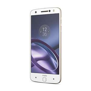 Lenovo Moto Z UK SIM-Free Smartphone - White/Gold £149.99  & FREE delivery @ Amazon (Camera Centre)