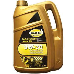 ALBOIL SYNPLUS SAE 5W30 FULLY SYNTHETIC CAR ENGINE OIL 5L GM SPEC 5 LITRE - £17.25 @ buy_gadgets eBay
