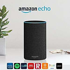 Amazon Echo 2nd Generation (with code) - £54.99 @ Amazon